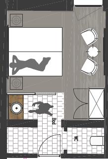 Standard zimmer klein design alpenhotel stefanie for Design alpenhotel